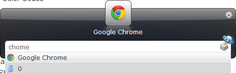 use Launchy to launch Chrome