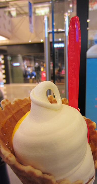 The ice cream