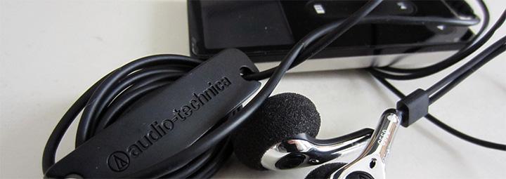 MP3 Player and Earplugs