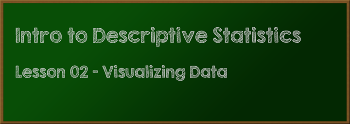 Lesson 02 - Visualizing Data